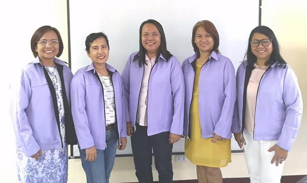 5purple jackets